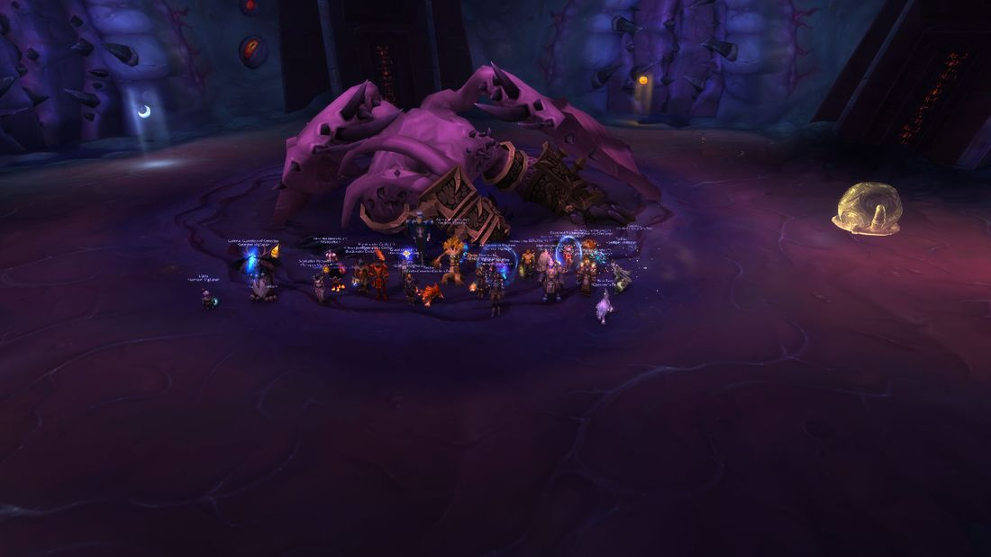 Il'gynoth Vanquished!